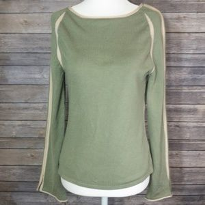 Anthropologie - Moth - Pea Green Sweater